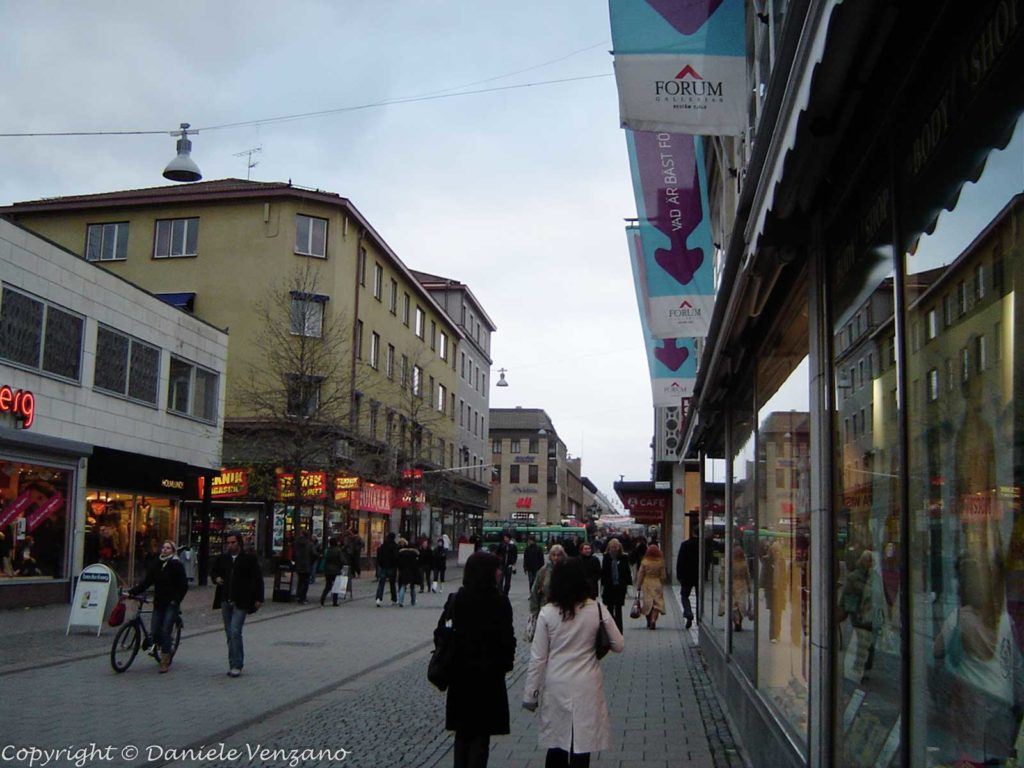 Uppsala shopping