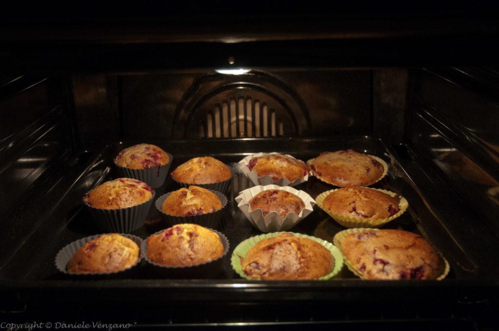 Muffin nel forno