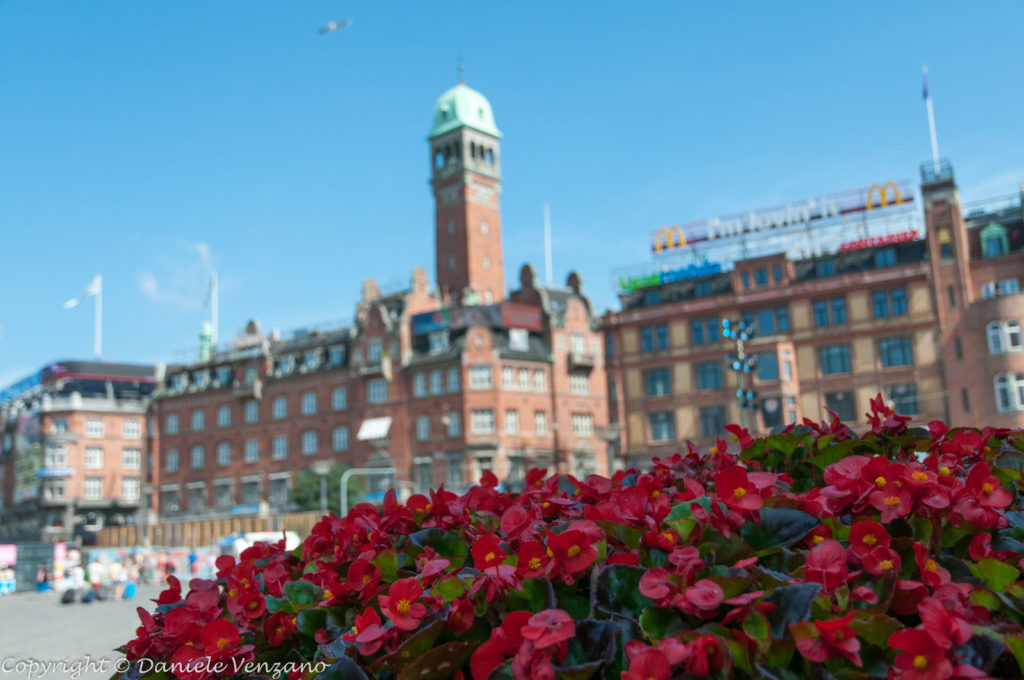 Il municipio di Copenhagen