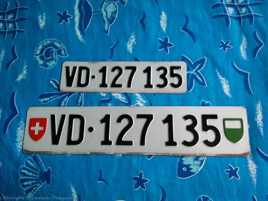 Targhe VD 127 135